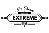 ice cream EXTREME Hold Exercise Hair Band, Brand Logo
